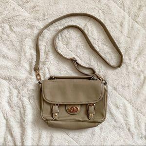 🌵2/$15 STREET LEVEL / small tan crossbody purse